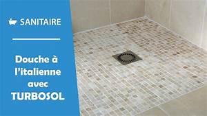 Comment Faire Une Douche à L Italienne : installer une douche l 39 italienne avec turbosol youtube ~ Melissatoandfro.com Idées de Décoration