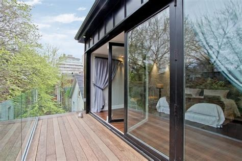 folding glass walls canada modern patio other by