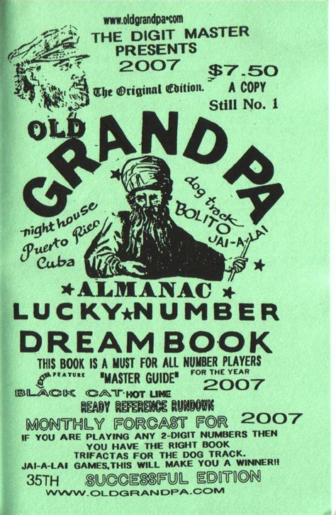 Lucky Number Dream Book Free Blogsvital