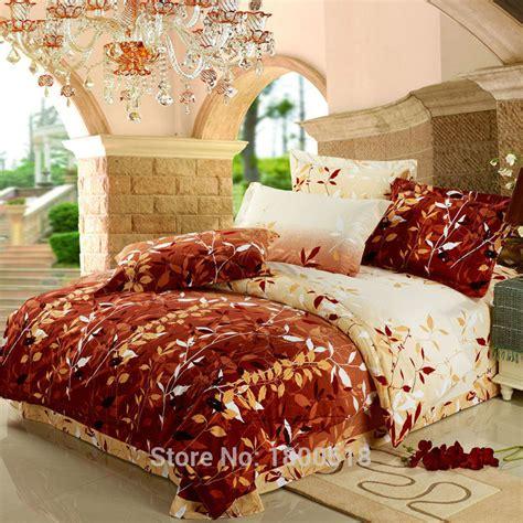 fall bedding sets 2015 4pcs comfort set late autumn leaf bedding sets cheap