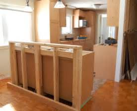 kitchen bar island renovation story kitchen rebuild housecraft diy house garden and interior design