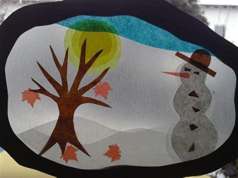 fensterbild transparentpapier winter fensterbild gruenezwerge