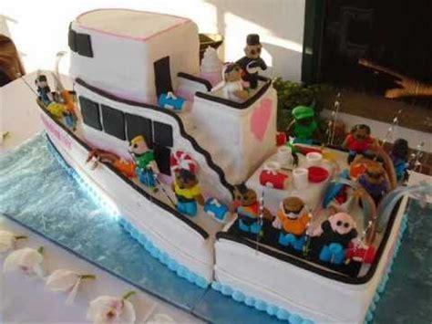 fishing boat wedding cakes youtube