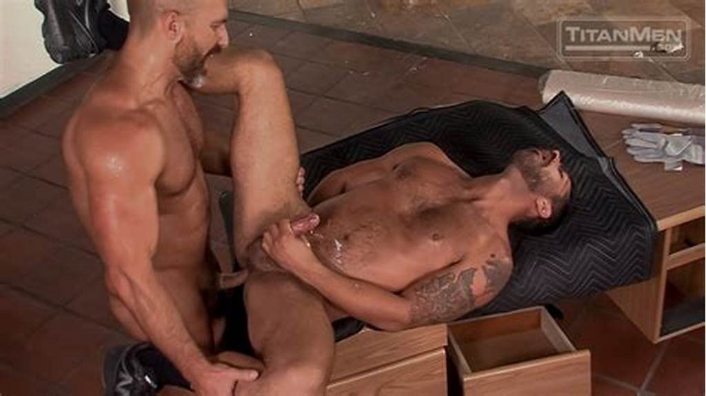 #Adam #Ramzi #Sucks #And #Eats #Dirk #Caber'S #Muscled #Asshole