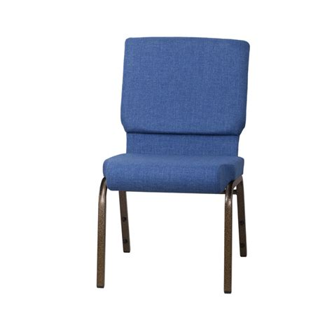 hercules series 18 5 w stacking church chair in blue