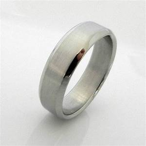 silver ring for men stainless steel casual ring or With stainless steel mens wedding ring