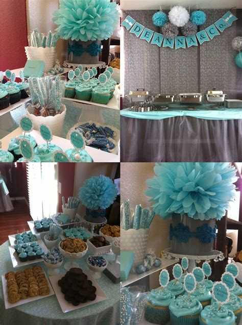 blue baby shower blue and grey baby shower ideas grey