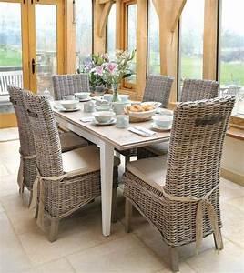 17 meilleures idees a propos de chaise osier sur pinterest With salle À manger contemporaineavec chaise osier