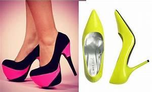 Neon Shoes Trend 2012 Krazy Fashion Rocks