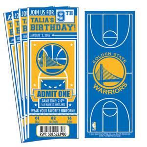 Golden State Warriors Birthday Party