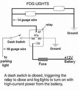 Upfitter Switch For Fog Lights
