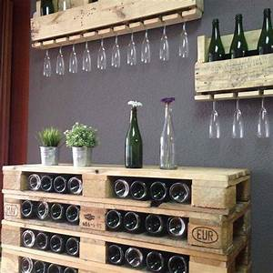 Bar Aus Holzpaletten : bar de pallet adega de vinho e outras ideias para seu barzinho ~ Sanjose-hotels-ca.com Haus und Dekorationen