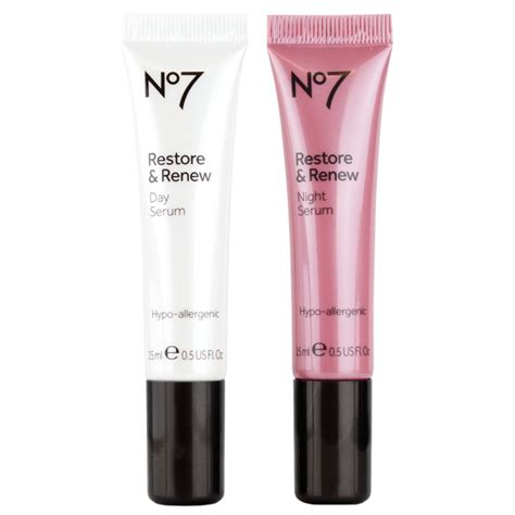 No7 Restore & Renew Day & Night Serum   Beautypedia