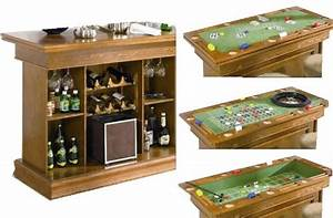 Bar A Roulette : review home bar designs coaster all in one game table bar unit with wine shelves includes ~ Teatrodelosmanantiales.com Idées de Décoration