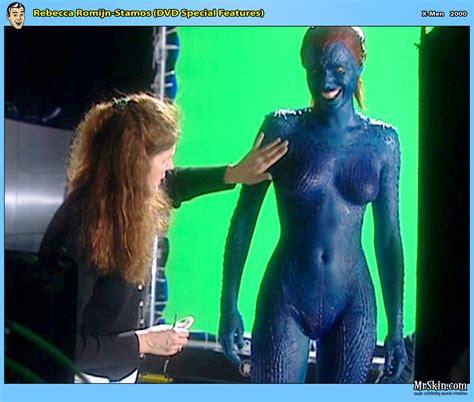 Mystique rebecca romijn nude-adult gallery