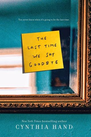 time   goodbye  cynthia hand