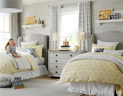 Adorable Girls Shared Bedroom Designs