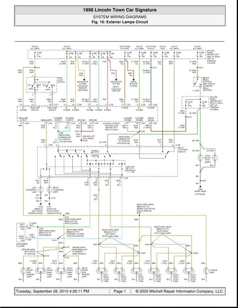 1994 Lincoln Town Car Ignition Wiring Diagram by 1995 Lincoln Town Car Fuse Box Electrical Problem Wiring