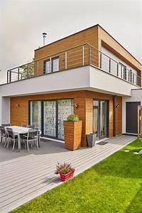 Maison Design Et Moderne En Ossature Bois  Un Projet 100