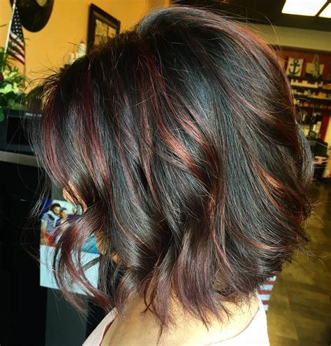 With Black Hair by 70 Breathtaking Highlights Styles Flames In Your Hair