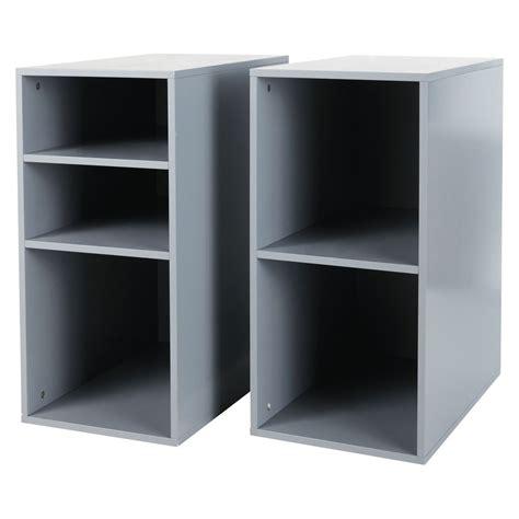 caissons bureau 2 caissons de bureau gris h 73 cm desk maisons du monde