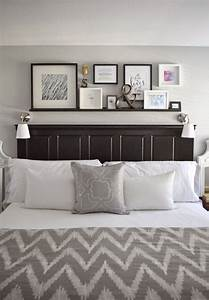 best 25 wall mounted bedside table ideas on pinterest With save more space with wall mounted headboards