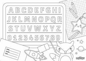 Buchstaben, Ausmalbilder, Drucken