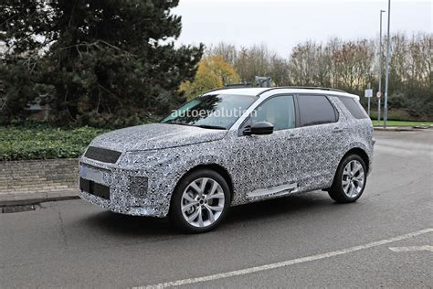 2020 Land Rover Sport by 2020 Land Rover Discovery Sport Spied In Uk With