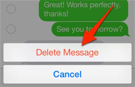 how to delete messages on iphone how to delete individual sms messages from your iphone history