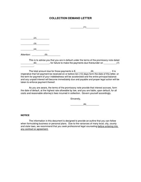 sample debt collection letter  attorney