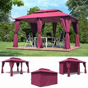 Pavillon Garten Metall : garten pavillon 3x4m metall gartenm bel partyzelt gazebo pavillion gartenzelt in garten ~ Sanjose-hotels-ca.com Haus und Dekorationen
