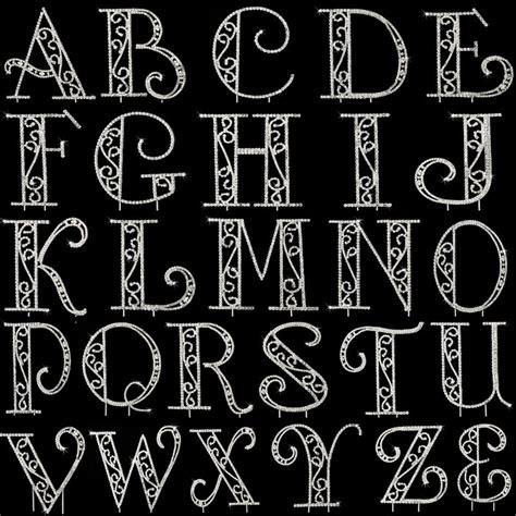 crystal monogram cake topper lettering lettering fonts lettering alphabet