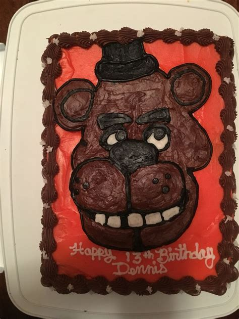 nights  freddys cake  cakes  creations