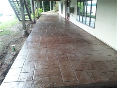 reseal stamped concrete