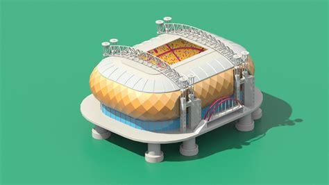 model stadium  amsterdam johan cruijff arena
