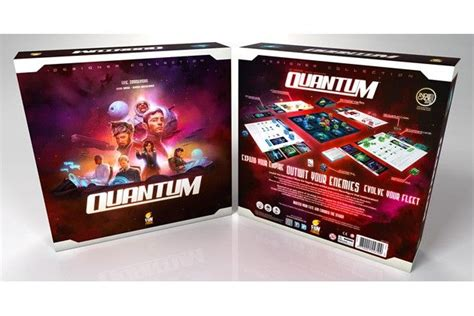 quantum  images board game box fun board games games
