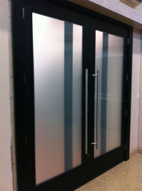 modern contemporary front entry fiberglass double doors