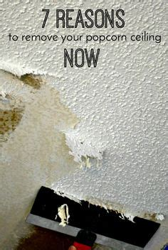 remove mold  popcorn ceilings cleaning