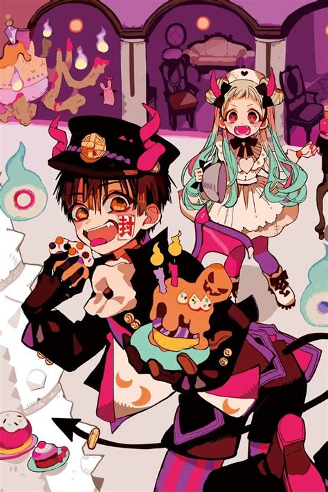 ghim cua  tren jibaku shounen hanako kun anime phim