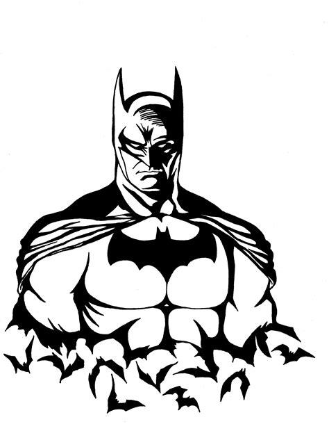 batman clipart black and white batman stencil pencil and in color batman