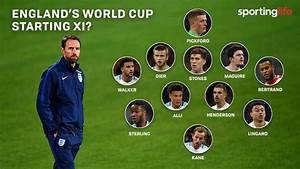 England at the 2018 World Cup: Gareth Southgate's starting ...