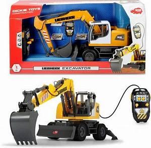 Spielzeug Per Rechnung : dickie toys spielzeug bagger motorisiert liebherr excavator online kaufen otto ~ Themetempest.com Abrechnung