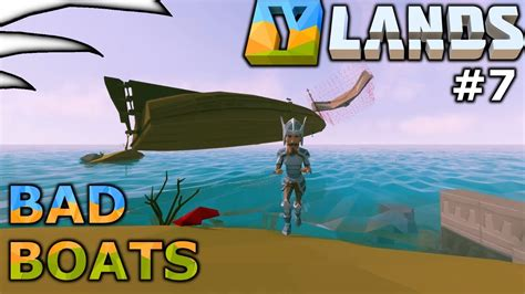 How To Make A Boat Ylands by Bad Boats Ylands Part 7