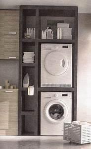 Regal Waschmaschine Trockner : wenn der trockner und die wama in die k che m ssen ~ Michelbontemps.com Haus und Dekorationen
