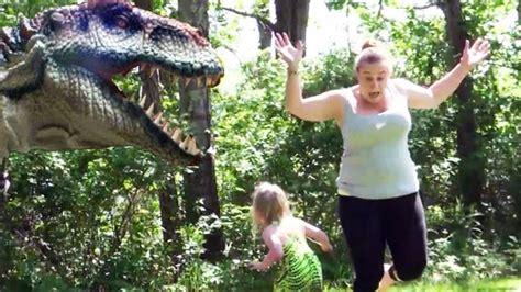 Dinosaur In Real Life Hidden Camera Practical Joke