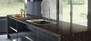 Stein Arbeitsplatte Küche : granit arbeitsplatten einfach perfekte granit arbeitsplatten ~ Orissabook.com Haus und Dekorationen