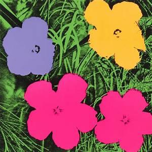 Andy Warhol Fleurs