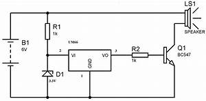 um66 melody generator circuit for beginners With musical bell circuit diagram