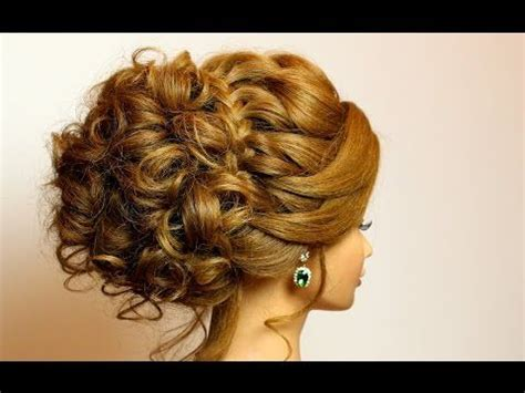 prom bridal updo romantic hairstyle for long medium hair
