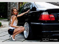 A new Photo Session with a E46 Sedan & Madalina